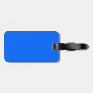 Blue Color Tags For Luggage
