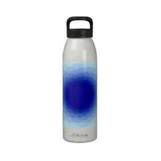 Blue Color Pencil Vortex Water Bottle