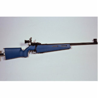 Blue color Target rifle Cut Outs