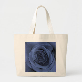 Blue Colored Rose, Gorgeous! Large Tote Bag