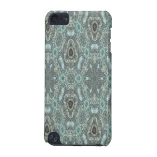 Blue colored strange pattern iPod touch (5th generation) cover