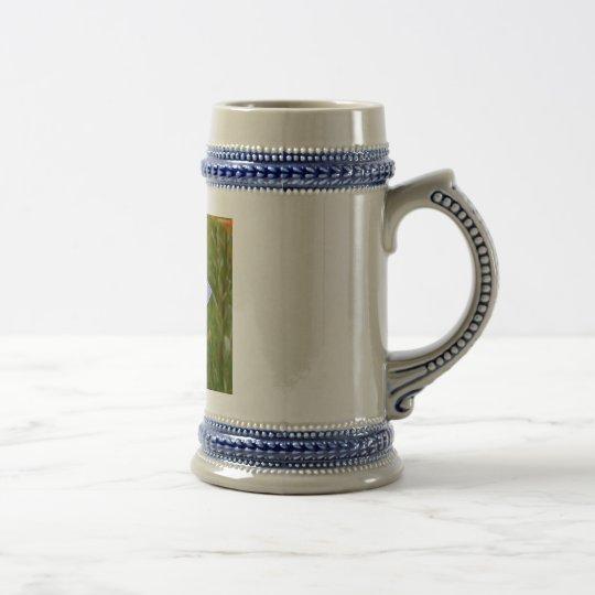 Blue Columbine Beer Stein