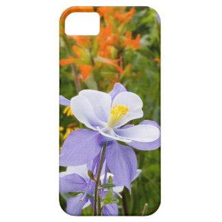 Blue Columbine iPhone SE/5/5s Case