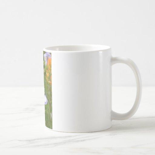 Blue Columbine Mug