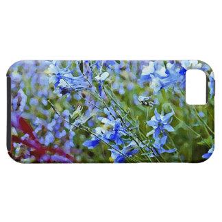 Blue Columbines - Flowers iPhone SE/5/5s Case