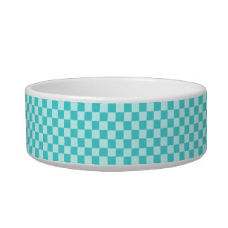Blue Combination Classic Checkerboard by STaylor Bowl