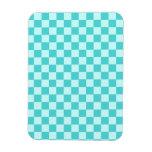Blue Combination Classic Checkerboard Magnets