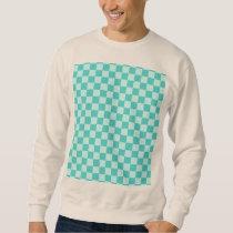 Blue Combination Classic Checkerboard Sweatshirt