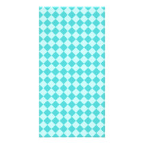Blue Combination Diamond Pattern by Shirley Taylor Card