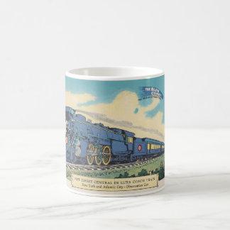 Blue Comet Postcard Mug