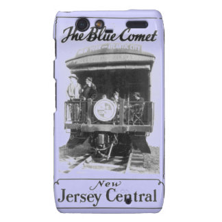 Blue Comet Train Droid RAZR Barely There Case Motorola Droid RAZR Cover