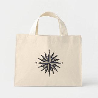 Blue Compass Rose Bag
