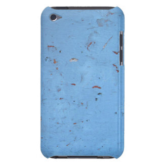 Blue Concrete Texture Barely There iPod Cover