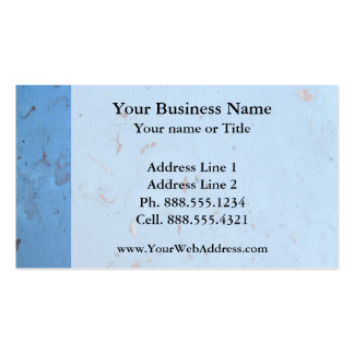 Blue Concrete Texture Double-Sided Standard Business Cards (Pack Of 100)