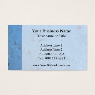 Blue Concrete Texture Business Card