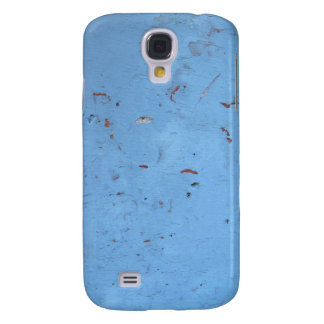 Blue Concrete Texture Samsung Galaxy S4 Cover