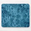 Blue Condensation mousepad