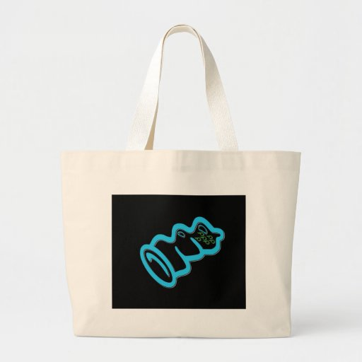 Blue Condom Tote Bag