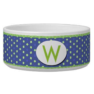 Blue Confetti Bowl