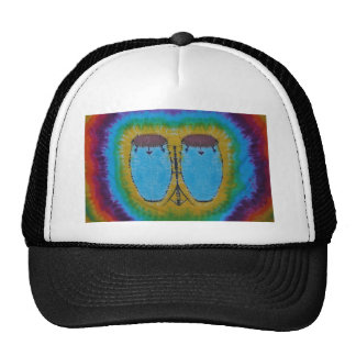 Blue Conga Drums Tie Dye Hat