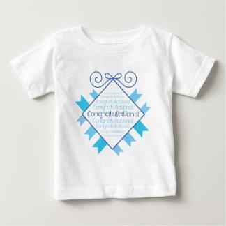 Blue Congratulations! Tee Shirt