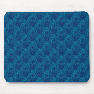 Blue Contrail Spiral Mousepad