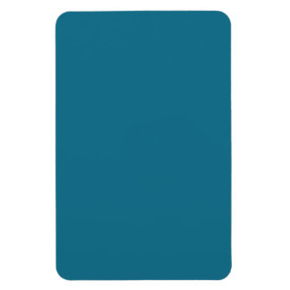Blue Coral Steel Muted Teal 2015 Color Trend Magnet