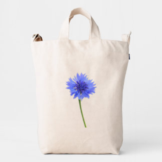 blue cornflower duck bag