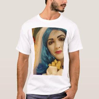 Blue Corpse Girl Smile T-Shirt