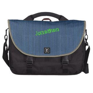 Blue Corrugated Cardboard Laptop bag Template