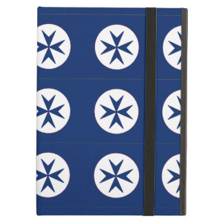 BLUE CORSAIR STYLE octagon cross iPad Air Covers