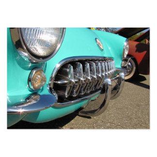 Blue Corvette ATC Business Cards