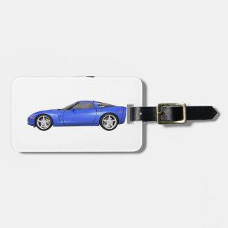 Blue Corvette: Bag Tag