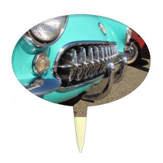 Blue Corvette ~ Cake Topper