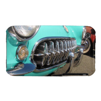 Blue Corvette ~ iPhone 3 CaseMate Barely There iPhone 3 Case
