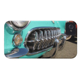 Blue Corvette ~ iPhone 4 CaseMate Barely There cas iPhone 4 Case-Mate Case