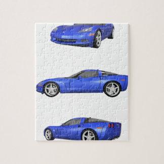 Blue Corvette: Puzzle