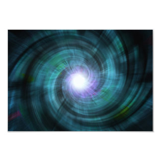 Blue Cosmic Twirl Card