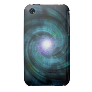 Blue Cosmic Twirl iPhone 3 Cover