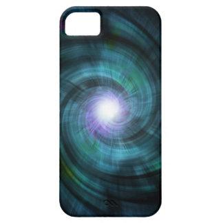 Blue Cosmic Twirl iPhone SE/5/5s Case