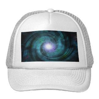 Blue Cosmic Twirl Trucker Hat