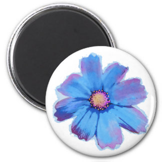 Blue Cosmo 2 Inch Round Magnet