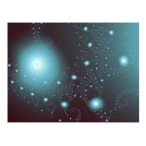 Blue Cosmos Postcard