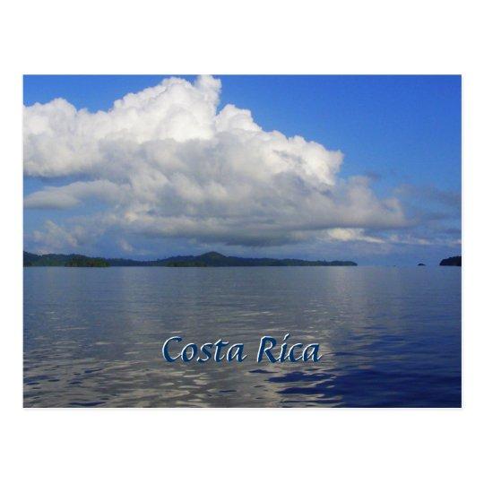 Blue Costa Rica Post Card
