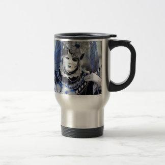 Blue Costume Travel Mug