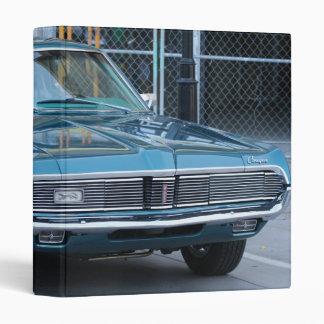 Blue Cougar Automobile Binder