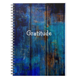 Blue Country Style Gratitude Journal
