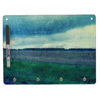 Blue County Field Dry-Erase Board