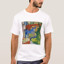 Blue Cow, 1914 (tempera on paper) T-Shirt