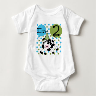 Blue Cow 2nd Birthday Tshirts and Gifts